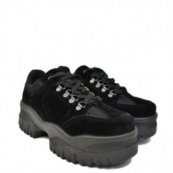 Vans Authentic VOEBYO (Pop) Charcoal Gray/Green Flash