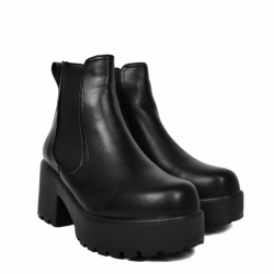 Dr Martens 1460 Vegan Chrome Black