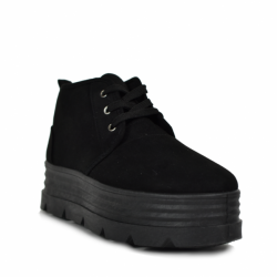 Dr Martens 1490 Vegan Vintage Black Felix Rub-Off