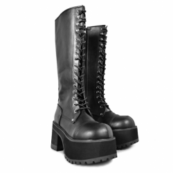 Koi Footwear ND51 Black Suede