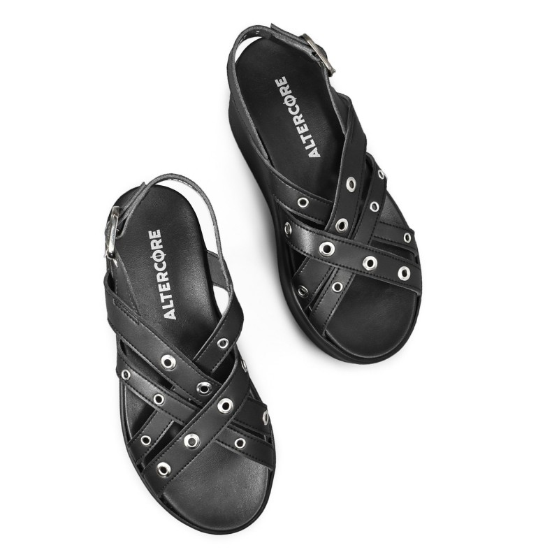 Dr Martens 1461 Vegan Silver Chrome Paint Metallic