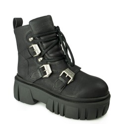 Koi Footwear ND72 Black/Pink Koi Footwear - 2