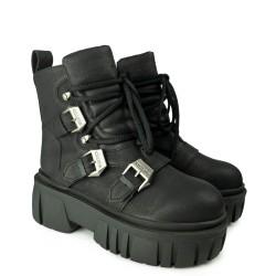 Koi Footwear ND72 Black/Pink Koi Footwear - 3