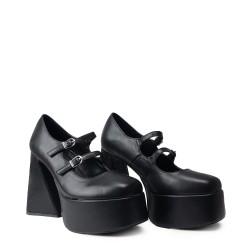 Koi Footwear ND26 Black/White Print Suede